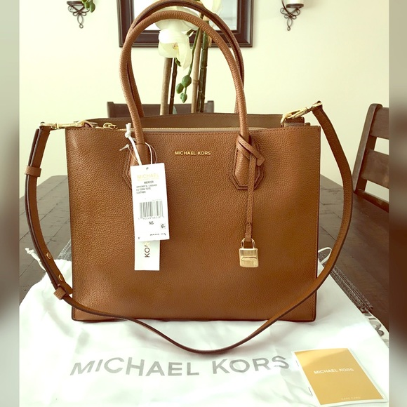 991543cc999a Michael Kors Mercer Large Convertible Tote